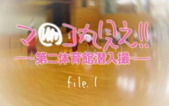 マ○コ丸見え!!第二体育館潜入撮File.1後編