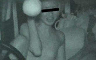 マスクさんのカーセックス赤外線盗撮 File.13